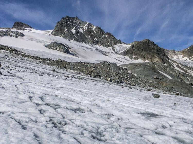 Silvretta Hochtour Im Sommer Auf Die Dreilaenderspitze