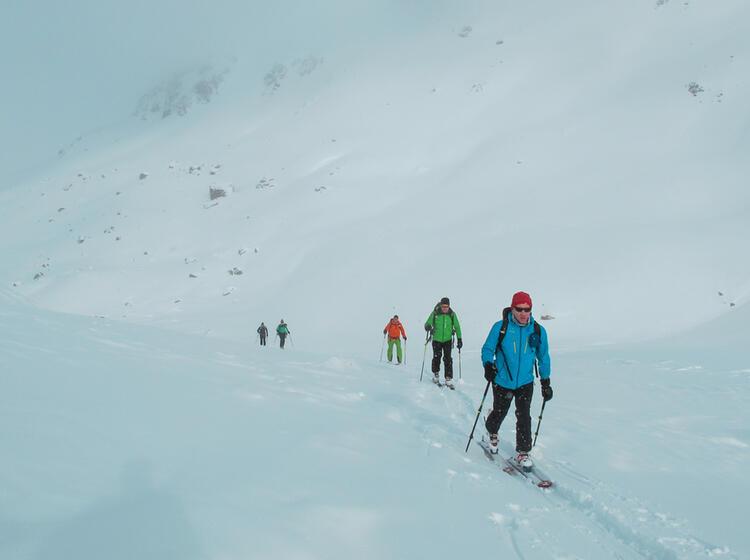 Skidurchquerung Silvretta Mit Bergfuehrer