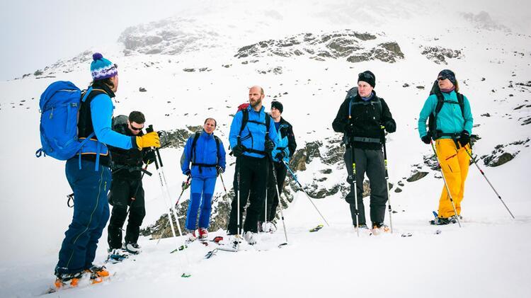 Skihochtouren Kurs Silvretta Jamtalhuette