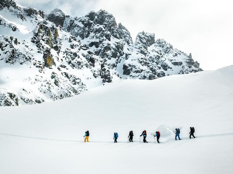 Skihochtouren Von Der Wiesbadener Huette In Der Silvretta