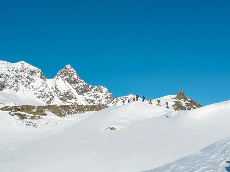 Skitour Zum Piz Buin Mit Bergfuehrer
