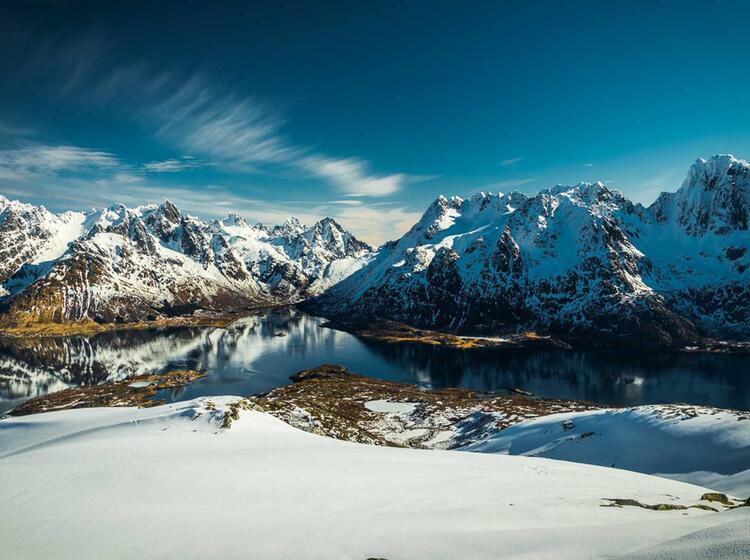 Skitouren Auf Den Inseln Der Lofoten Mit Bergfuehrer