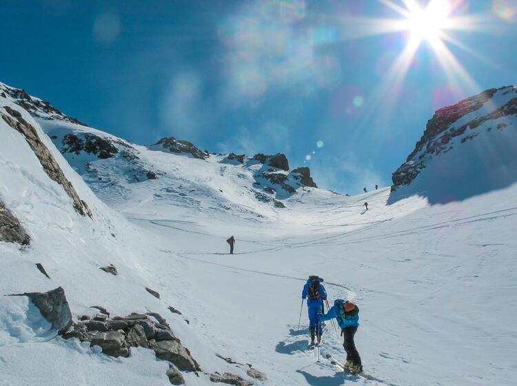 Skitouren In Der Silvretta Rund Um Die Tuoi Huette An Silvester