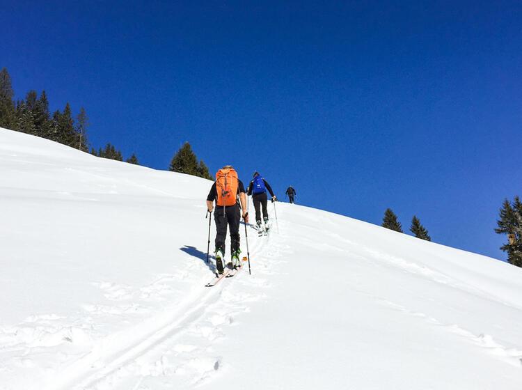 Skitouren Mit Bergfuehrer In Tirol