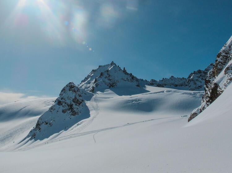 Skitouren Rund Um Den Piz Buin In Der Silvretta