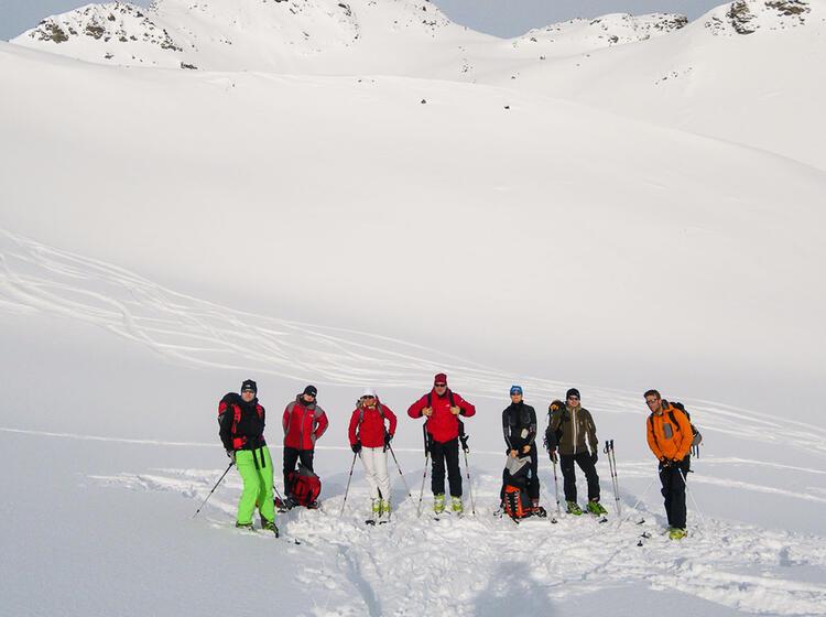 Skitouren Rund Um Die Heidelberger Hu Tte