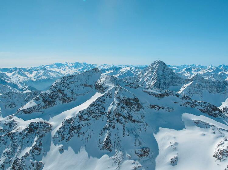Skitouren Und Schneeschuhtouren Auf Den Piz Buin