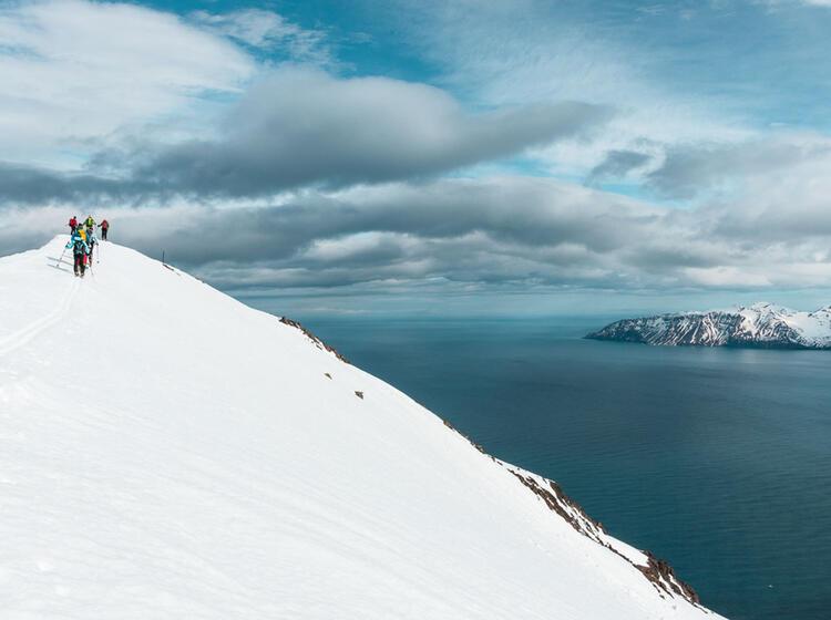 Skitouren Vom Meer In Island