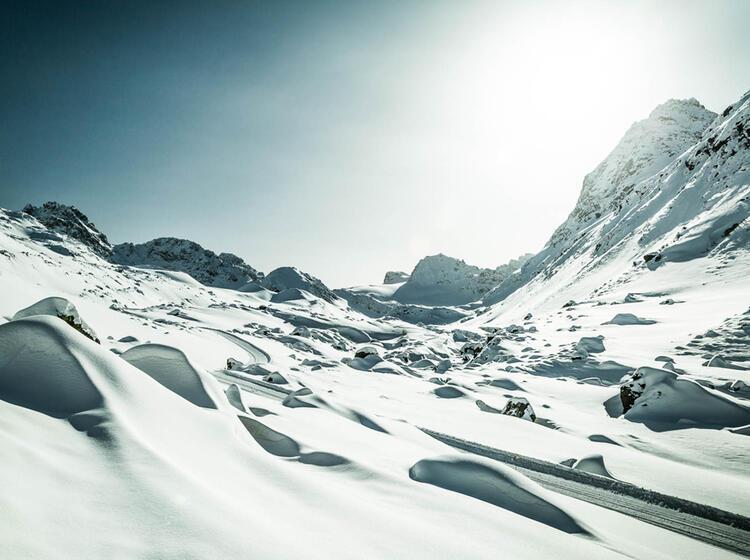Skitouren Von Der Jamtalhuette Zueber Die Dreilaenderspitze In Der Silvretta