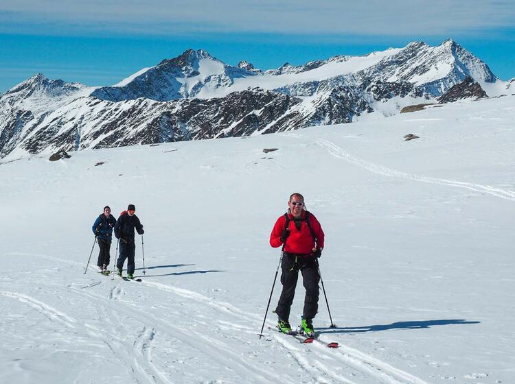 Skitouren Von Der Johannishuette Am Grossvenediger