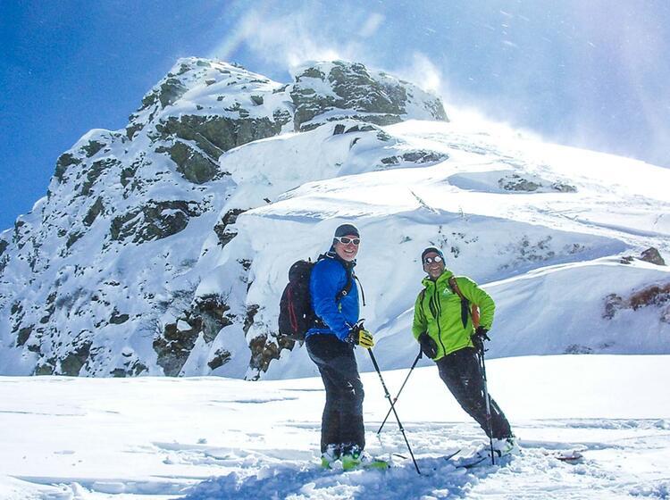 Skitouren Wochenende In Kitzbuehl Mit Bergfuehrer Von Der Oblerlandhuette Aus