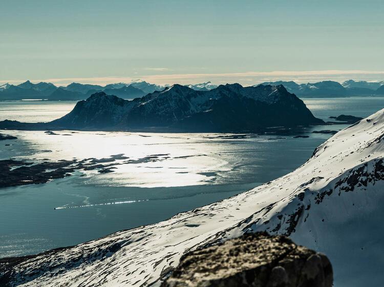 Skitouren Ziel Lofoten In Norwegen