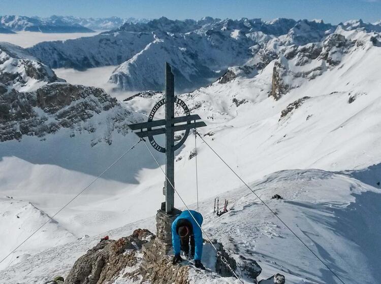 Skitourenkurs Fuer Anfaenger In Der Naehe Von Muenchen