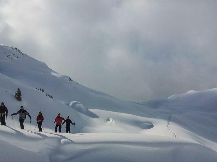Skitourenkurs Fuer Anfaenger In Oesterreich