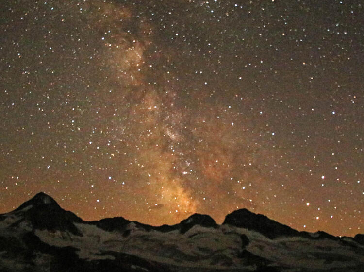 Sternenhimmel An Der Kuersinger Huette