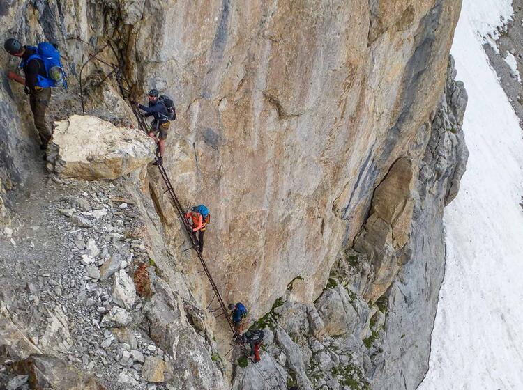Suedtirol Klettersteig In Der Brenta