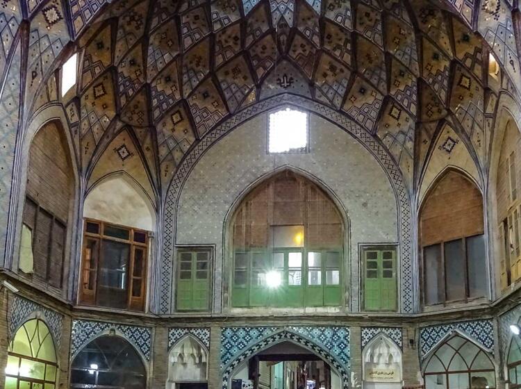 Traditionelle Bauten In Teheran Beim Trekking Und Wandern