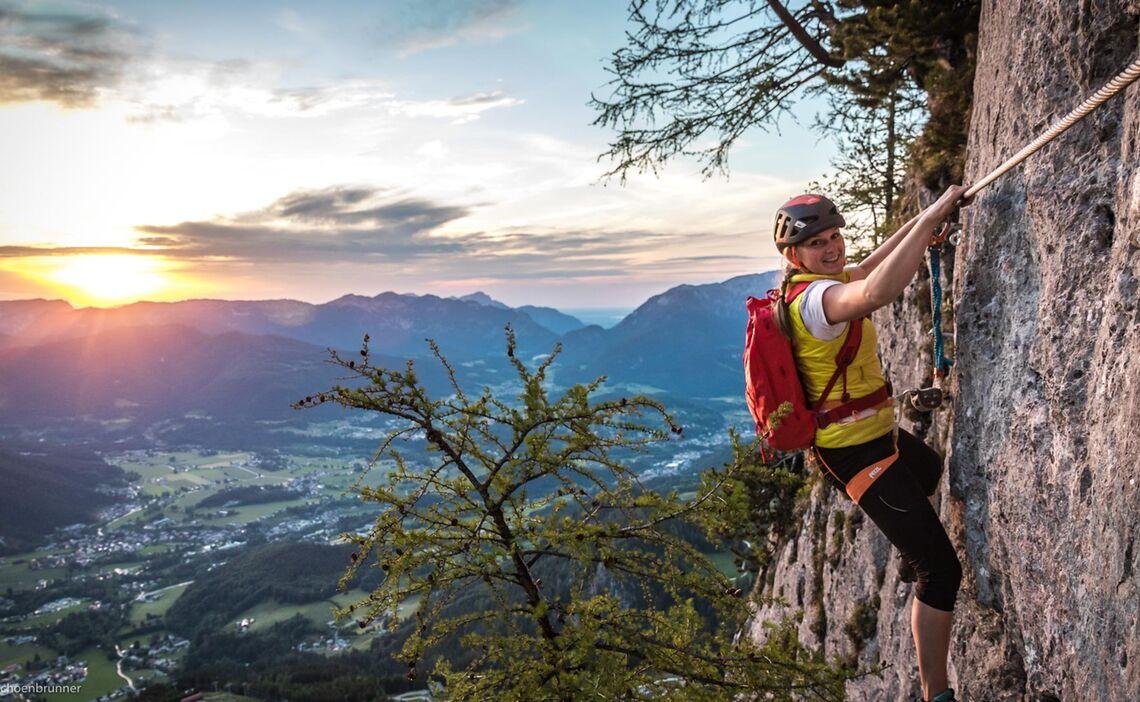 Traumhafte Stimmung Am Jenner Klettersteig