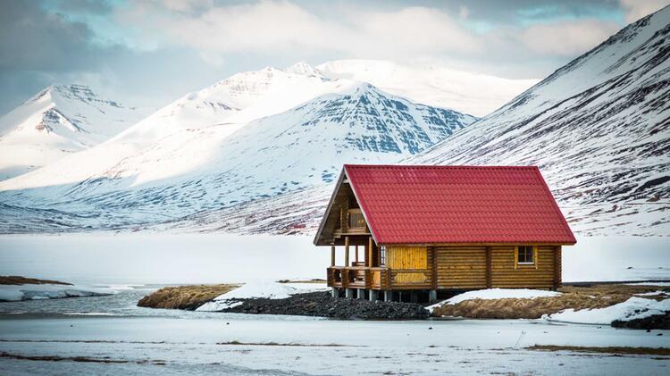 Traumhafte Unterkunft Bei Der Skioutourenreise Island