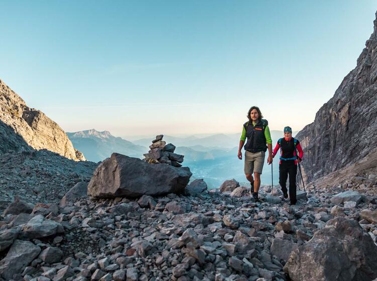 Traumhafter Zustieg Zur Watzmann Wiederroute Durch Das Watzmannkar