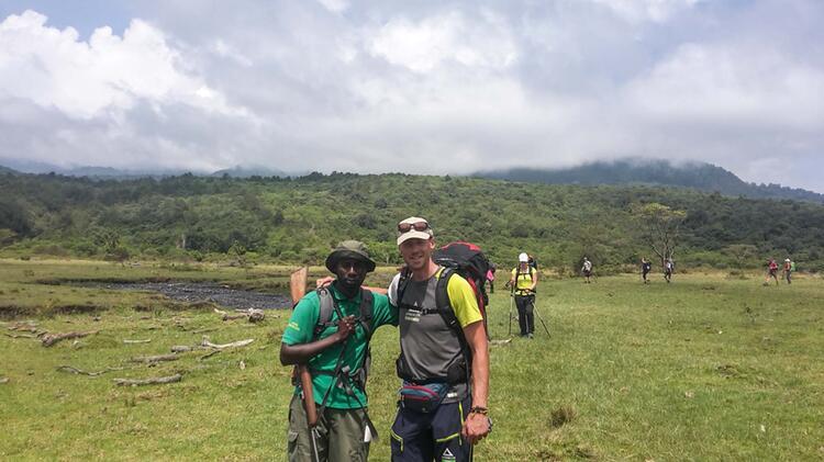Trekking Am Kilimandscharo Mit Bergfuehrer Markus Beck