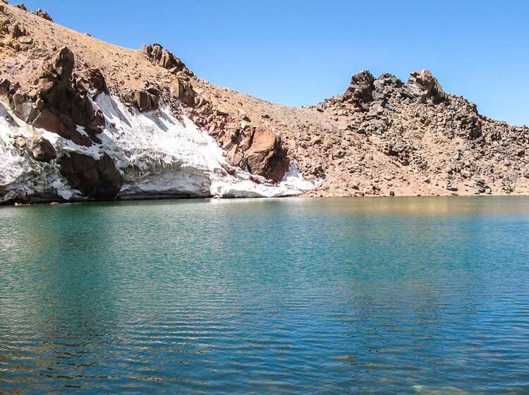 Trekking Im Iran Zum Damavand