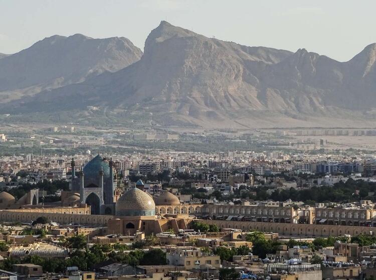 Trekking Und Wandern Im Iran Am Damavand