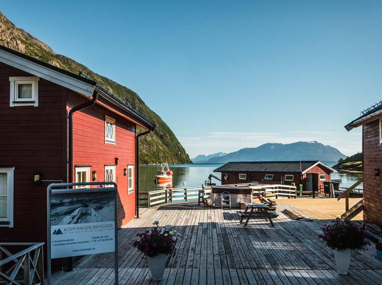 Unsere Lodge Bei Der Wanderwoche In Norwegen