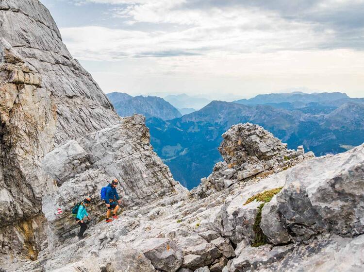 Unterwegs In Berchtesgaden Ueber Den Watzmann Mit Einheimischen Bergfuehrer