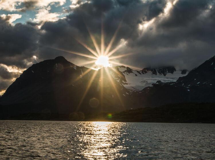 Wander Woche Lyngen Fjord In Norwegen