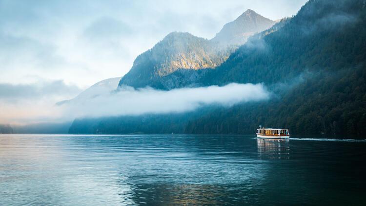 Wandern Am Koenigssee Bei Berchtesgaden