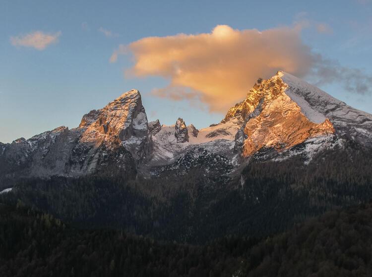 Wandern Bis Zum Watzmann Auf Dem Salzalpensteig Vom Chiemsee Nach Berchtesgaden