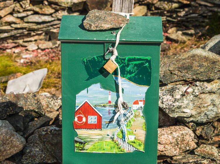 Wandern Im Norwegischen Lyngen Fjord Bei Tromsoe