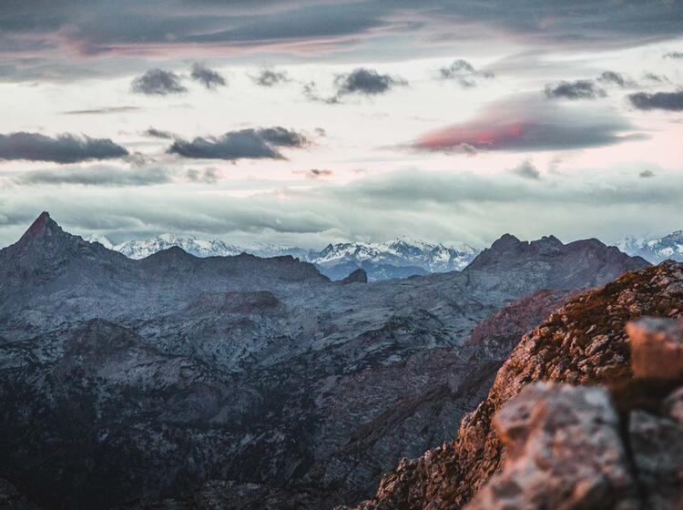 Wandern In Berchtesgaden Und Am Watzmann Mit Blick Ins Steinerne Meer Und Zur Schoenfeldspitze