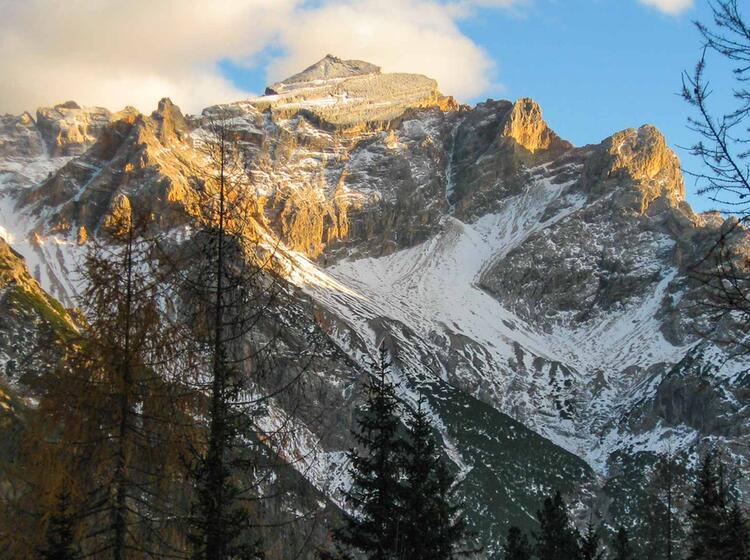 Wandern In Den Dolomiten Rund Um Die Fanes Alm