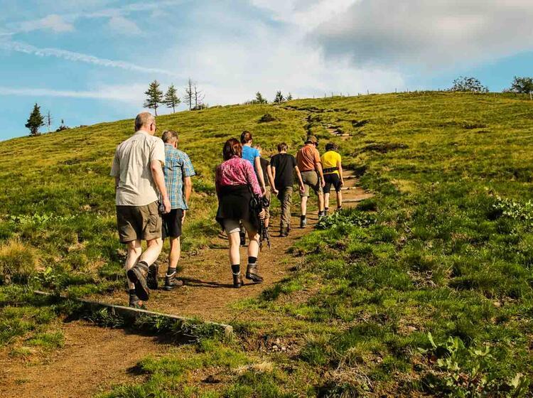 Wandern Mit Bergwanderfuehrer Bis Zum Koenigssee Auf Dem Salzalpensteig