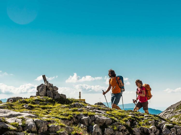 Wandern Und Klettersteig Am Hohen Goell