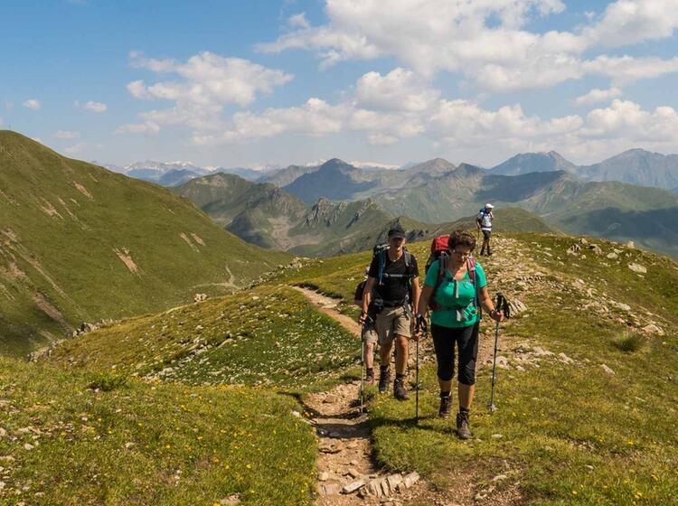 Wandern Vom Koenigsse Bis In Die Dolomiten