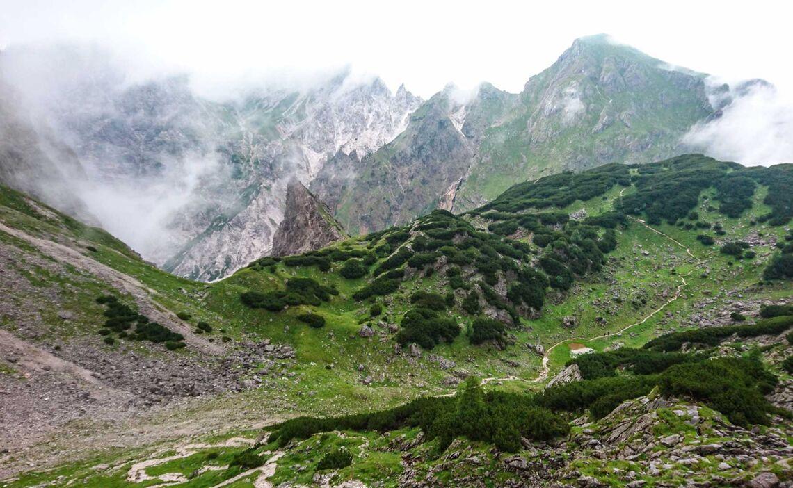 Wandern Vom Koenigssee Im Steinernen Meer