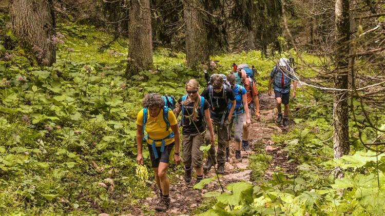 Wandern Von Huette Zu Huette Im Nationalpark Berchtesgaden