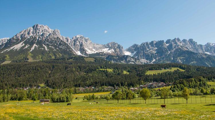 Wandern Von Kufstein Zum Wilden Kaiser