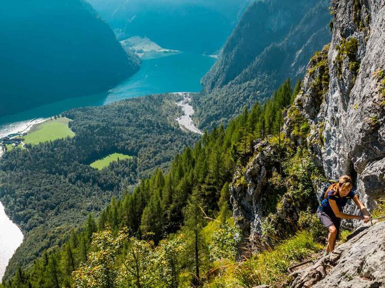 Wandern Zum Watzmann Vom Koenigssee