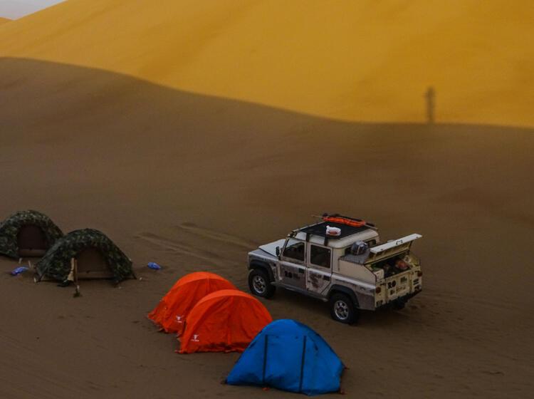 Wuesten Safari Im Iran Auf Der Trekking Reise