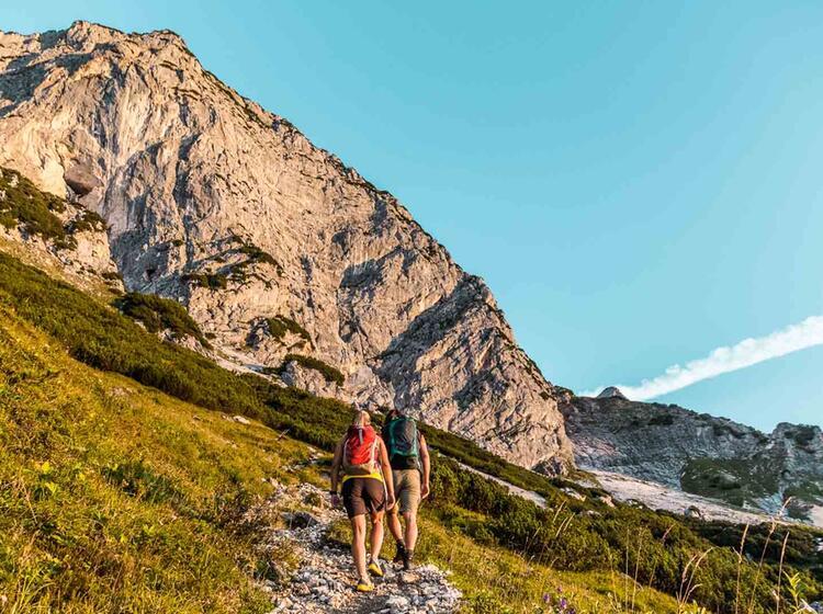 Zustieg Ueber Den Scheibenkaser Zum Untersberg Klettersteig
