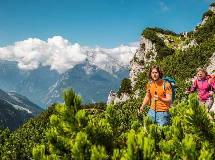 Zustieg Vom Kehlsteinhaus Zum Mannlgrat Kletter Steig