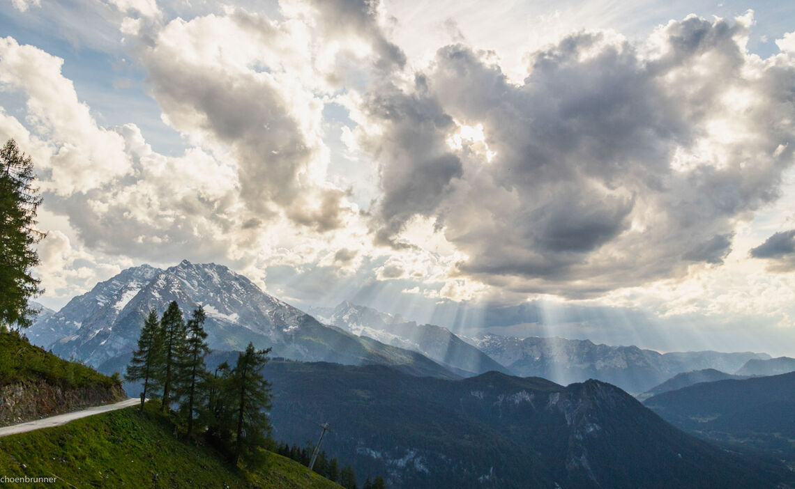 Zustieg Zum Klettersteig Am Jenner Laxersteig